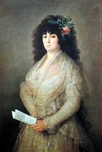 """""""La Tirana"""", cuadro de Goya en la Fundación Juan March"""