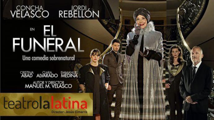 """Concha Velasco viene sumando éxito tras Éxito con la obra """"El Funeral"""" en el teatro La Latina de Madrid"""