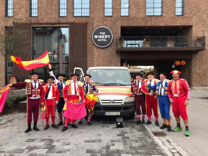 """""""Los Toreros"""" torrelaveguenses regresaron de Oslo y Estocolmo siguiendo a La Roja"""