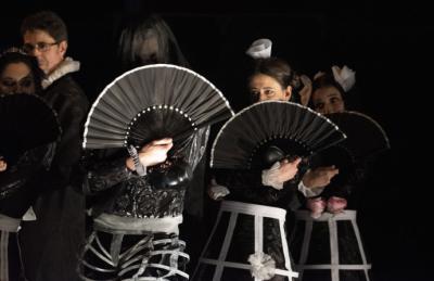 """""""El vuelo de Clavileño"""", dirección y versión de Irina Kouberskaya en el Teatro Tribueñe, en una interpretación sobresaliente"""