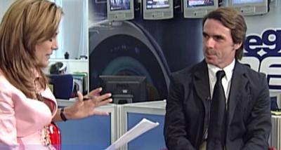 El expresidente del Gobierno, Jose María Aznar.(Captura de pantalla)