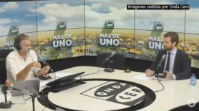 Pablo Casado en Onda Cero (captura de pantalla)