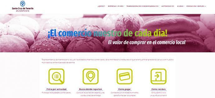 Santa Cruz de Tenerife pone en marcha campañas de apoyo al comercio del municipio