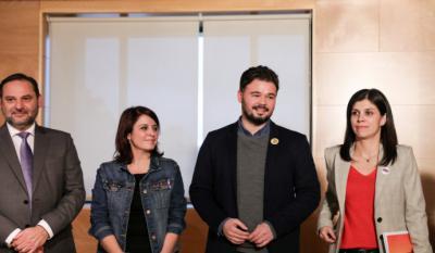ERC descarta cerrar el acuerdo de investidura con el PSOE antes de fin de año