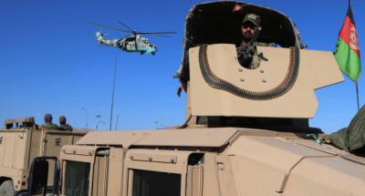 Soldados de Afganistán...