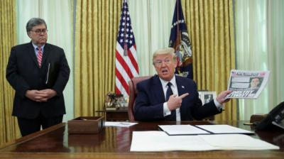 """'The New York Post"""", el tabloide de Murdoch, también abandona a Trump: """"Señor presidente, pare esta locura"""""""