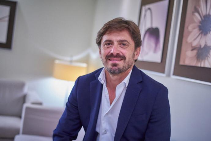 El presidente de CEHAT,Jorge Marichal