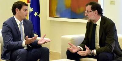 Rivera rebaja la tensión con Rajoy pero intentará explotar en el Congreso su batacazo en Catalunya