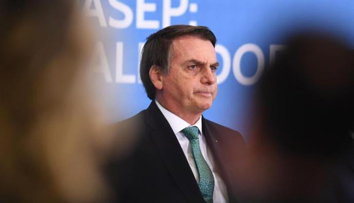 Jai Bolsonaro, presidente de Brasil