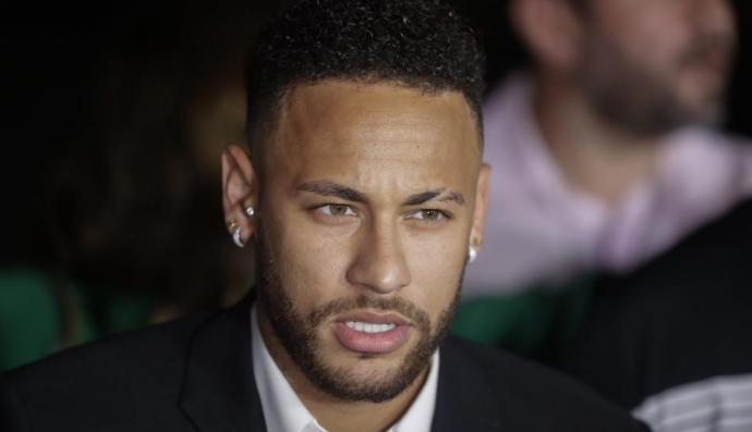 Neymar, jugador del París Saint Germain (PSG) francés.