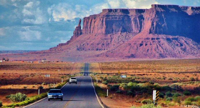 Paisaje de Arizona (imagen de referencia)