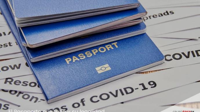 """El llamado """"pasaporte inmunitario"""" desestimado  en todos los países excepto en Estonia (imagen de referencia)"""