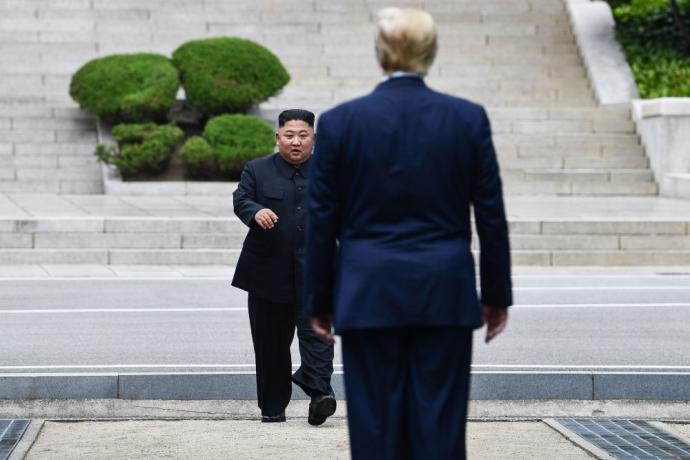 Trump va al encuentro de Kim en la Zona Desmilitarizada