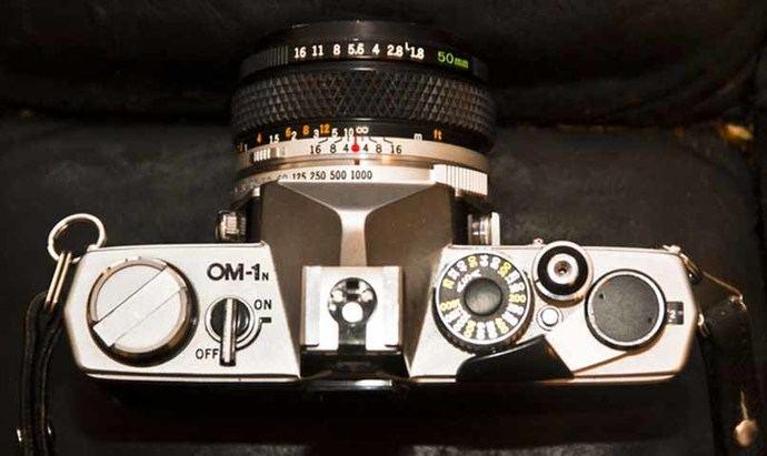 La Olympus OM-1 con un objetivo de 50 mm.WIKIMEDIA COMMONS