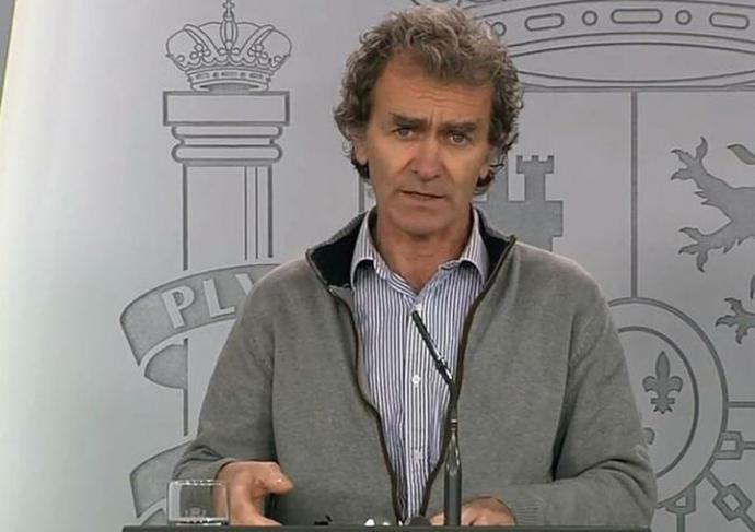 El director del Centro de Emergencias Sanitarias, Fernando Simón