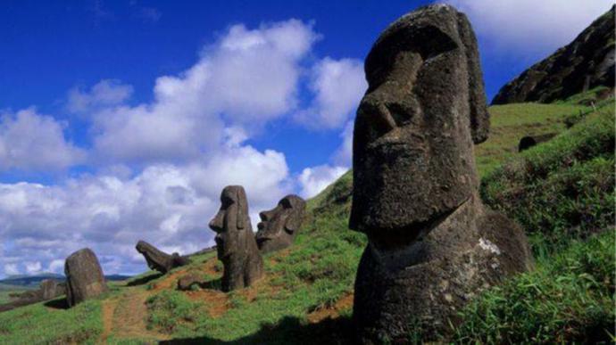 Isla de Pascua es uno de ñlos lugares más remotos del planeta