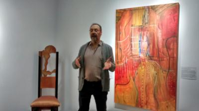 """Juan Pablo León presenta su serie pictórica """"Ulises"""" en su nueva Casa –Estudio de Madrid"""