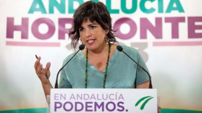 Teresa Rodríguez, un día después de renunciar a la marca propia en Andalucía: 'Cuando la testosterona pesa más que la unidad, las clases populares retroceden'