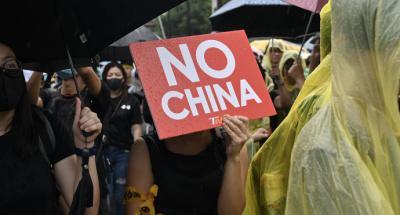 Taipéi: Multitudinaria manifestación en apoyo de las protestas de Hong Kong