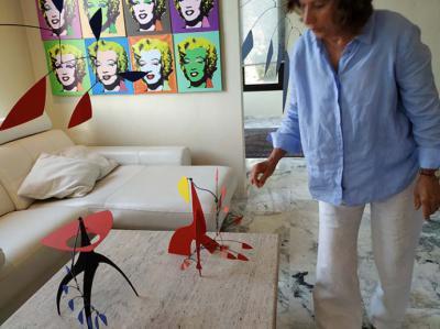Mónika Rabassa habla del escultor Manuel Marín, desde su casa/estudio en Alahurín de la Torre (Málaga)