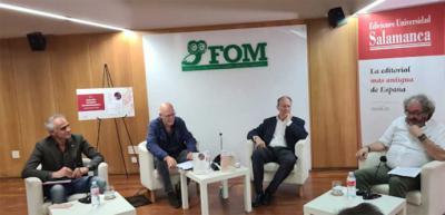 Ignacio Gómez de Liaño: Memoria, imaginación y lenguaje. El escritor presenta sus dos recientes libros en la Fundación Ortega Marañón