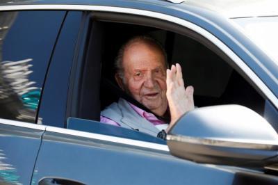 El Rey Juan Carlos, tras salir del hospital: 'Estoy fenomenal, con cañerías y tuberías nuevas'