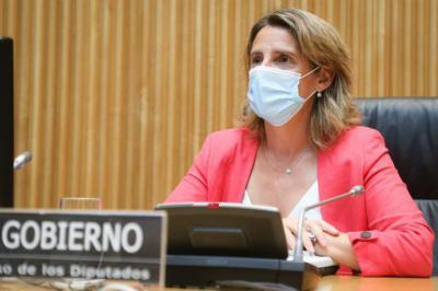 La ministra de Transición Ecológica y Reto Demográfico, Teresa Ribera