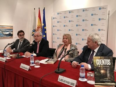 """Presentación del libro """"Cuentos Dedicados"""" de Julia Sáez- Angulo publicado por espacio cultura en la Casa de Galicia"""