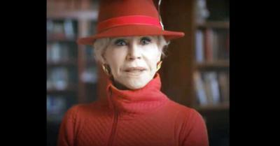 Mensaje de Jane Fonda al gigante Chase Bank: 'Retira el dinero del carbón, el petróleo y el gas, o dejaremos tu banco'