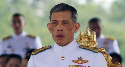 El rey de Tailandia Maha Vajiralongkorn en una imagen de archivo