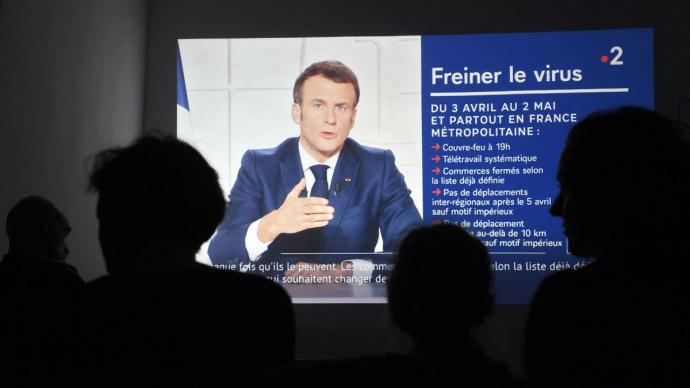Macron se dirige a Francia para informar del confinamiento nacionalNicolas Tucat / AFP / Dpa