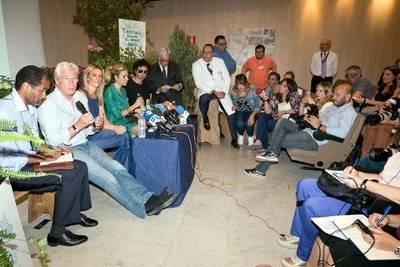 Richard Gere ayuda a los niños con cáncer del Hospital Niño Jesús de Madrid