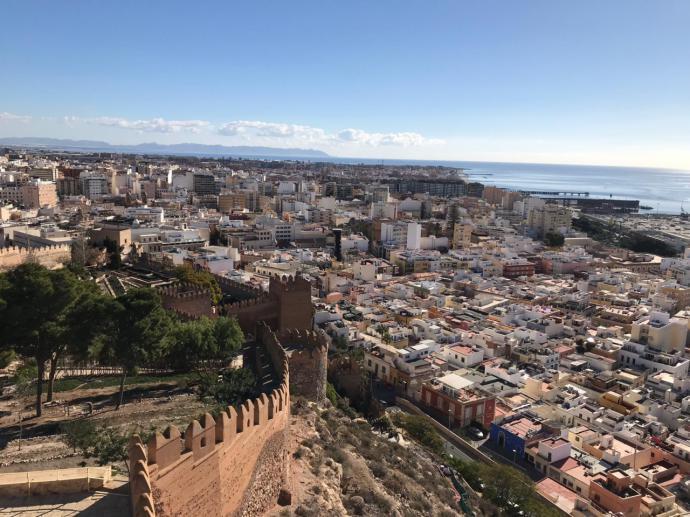 La Alcazaba de Almería, la mayor ciudadela árabe