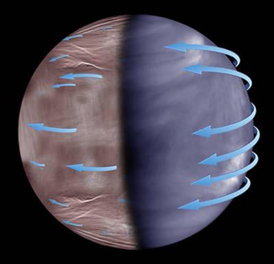 Así es la noche en Venus