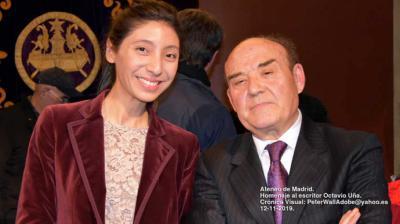 Libro en tres tomos y homenaje al profesor Octavio Uña en el Ateneo de Madrid