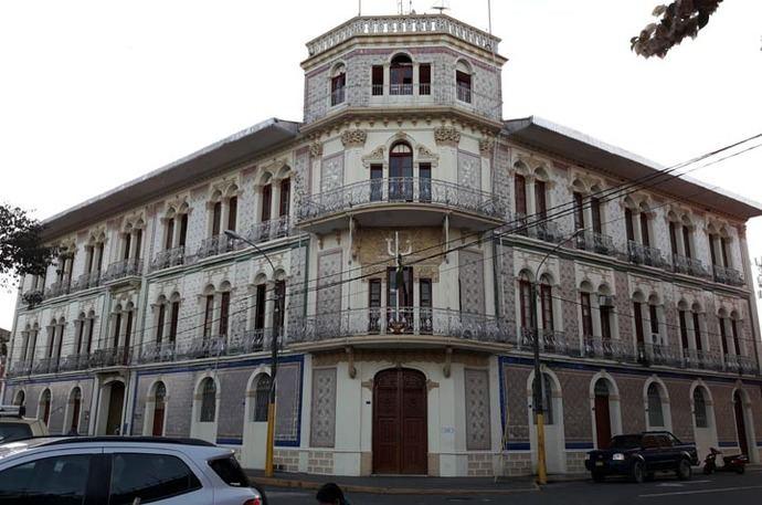 Bellos edificio en Iquitos