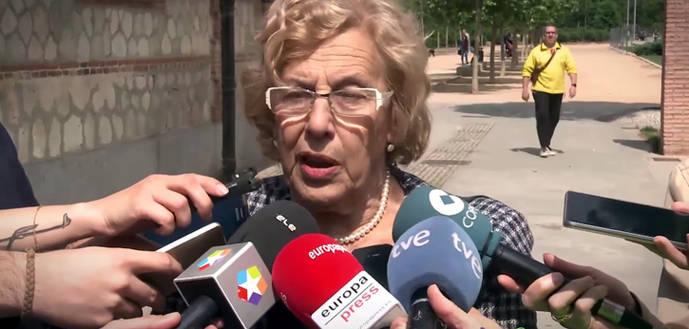 Carmena dice que los concejales que presentaron la denuncia del Open lo hicieron a sus espaldas