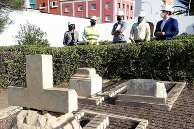 El Ayuntamiento de Santa Cruz de Tenerife, inicia la rehabilitación del cementerio de San Rafael y San Roque