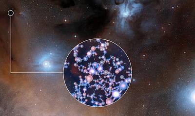 Los científicos han descubierto rastros de isocianato de metilo, un ingrediente químico básico para la vida, al observar con ALMA estrellas como el Sol en etapas muy tempranas de su formación