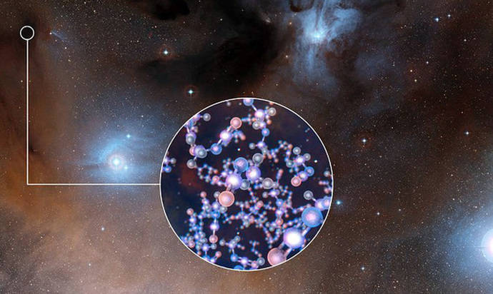 Detectan una molécula prebiótica en el entorno de un joven sol