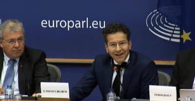 El presidente del eurogrupo Jeroen Dijsselbloem