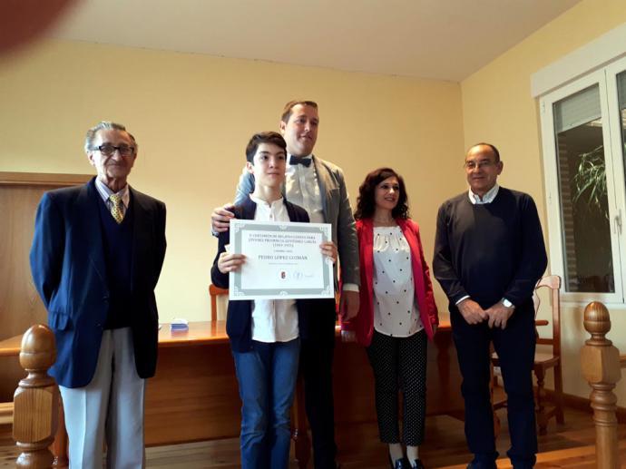 Ganador del II Certamen Internacional de Relatos cortos para jóvenes Prudencia Gutiérrez García 2018