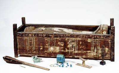 Sarcófago de Tadja, Abusir el-Meleq