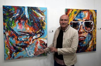 Universo de color en las formas en la pintura de José Luis García Fincias