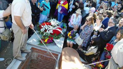 La familia Mendieta entierra por fin a Timoteo, sindicalista fusilado hace 78 años