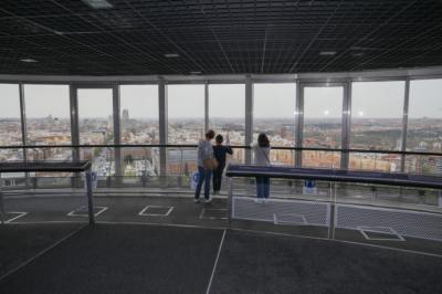 Reabre el Faro de Moncloa, totalmente accesible