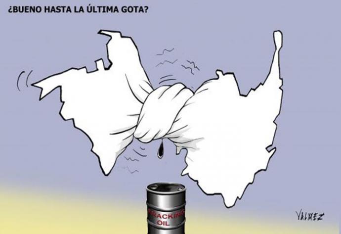 Graves problemas para el fracking en Colombia