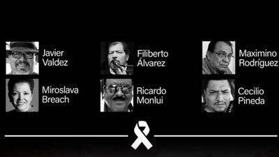 Periodistas mexicanos protestan por violencia contra trabajadores de medios de comunicación