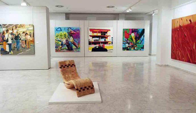 La Exposición Internacional de Artes Plásticas de Valdepeñas en su 82ª edición