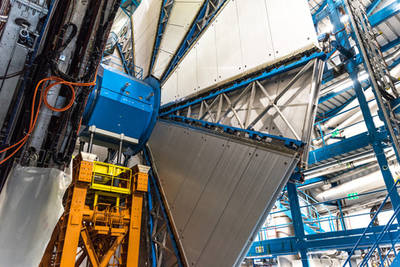 Experimento ATLAS del gran colisionador de hadrones (LHC)